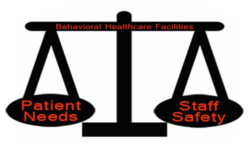 Redesigning and retrofitting existing facilities for behavioral healthcare
